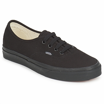 Shoes Low top trainers Vans AUTHENTIC Black