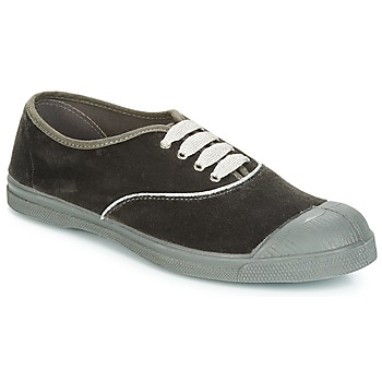 Shoes Women Low top trainers Bensimon TENNIS VELVET PIPING Grey