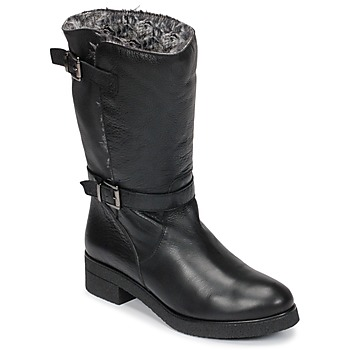 Shoes Women Mid boots Unisa DALI Black