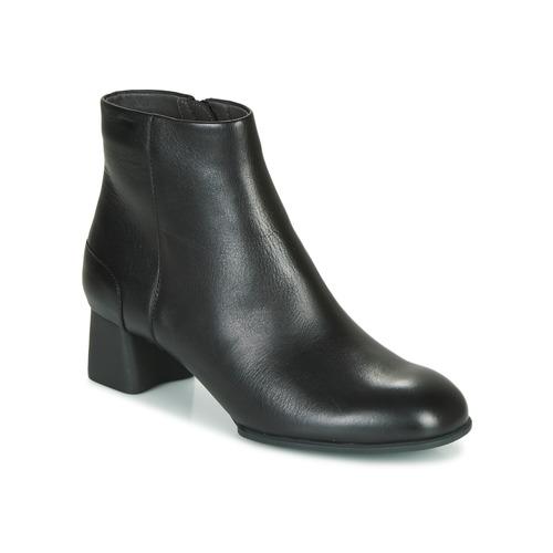Shoes Women Ankle boots Camper KATIE Black