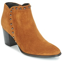 Shoes Women Ankle boots Myma POUTZ Camel