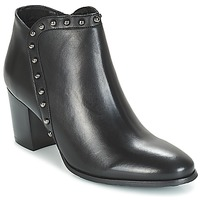 Shoes Women Ankle boots Myma POUTZ Black