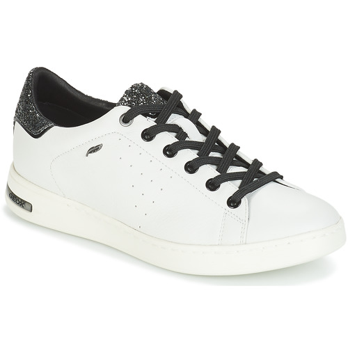 Completo En general Telégrafo  Geox JAYSEN White / Silver - Fast delivery | Spartoo Europe ! - Shoes Low  top trainers Women 80,00 €