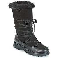 Shoes Women Snow boots Geox D HOSMOS B ABX Black