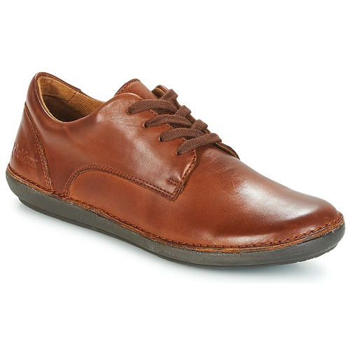 Shoes Women Derby shoes Kickers FOWFO Camel