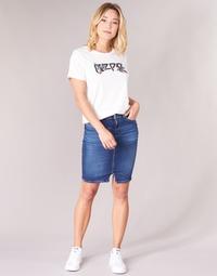 material Women Skirts Pepe jeans TAYLOR Blue / Medium