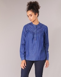 material Women Blouses Pepe jeans ALICIA Blue