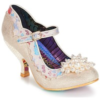 Shoes Women Court shoes Irregular Choice Shoesbury Cream