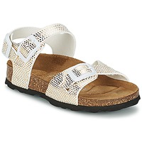 Shoes Girl Sandals Betula Original Betula Fussbett JEAN Python / Gold