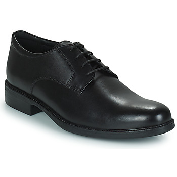 Shoes Men Derby shoes Geox CARNABY D Black