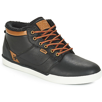 Shoes Men High top trainers Etnies JEFFERSON MID LX SMU Black / Brown