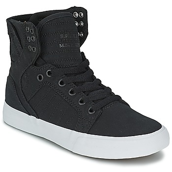 Shoes High top trainers Supra SKYTOP D Black / White