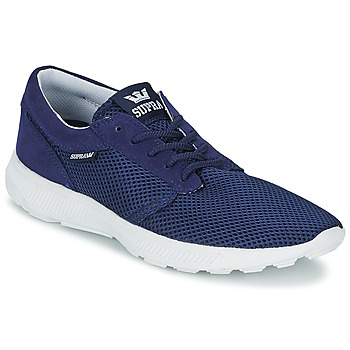 Shoes Men Low top trainers Supra HAMMER RUN Marine / White