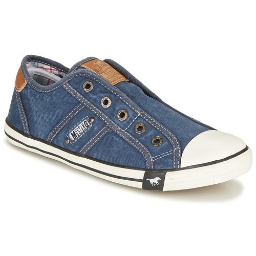 Shoes Women Low top trainers Mustang NAJERILLA Jeans