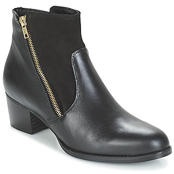 Shoes Women Ankle boots So Size JOCASSU Black