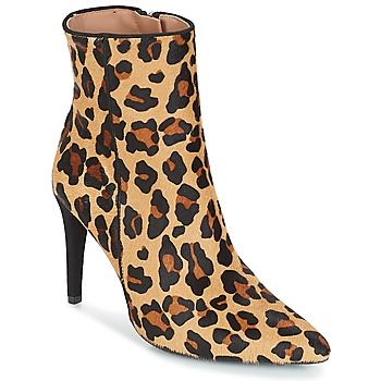 Shoes Women Ankle boots Fericelli JAFRAGOLA Camel