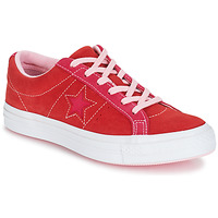 Shoes Women Low top trainers Converse ONE STAR OX Red / Pink