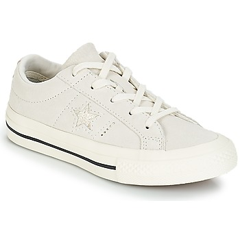 Shoes Children Low top trainers Converse ONE STAR OX White