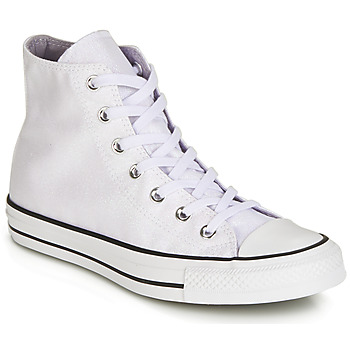 8011fd1b8caf Shoes Women High top trainers Converse CHUCK TAYLOR ALL STAR HI White    Glitter. Save. Outlet