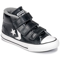 Shoes Children High top trainers Converse STAR PLAYER 3V MID  black / Mason / Vintage / White