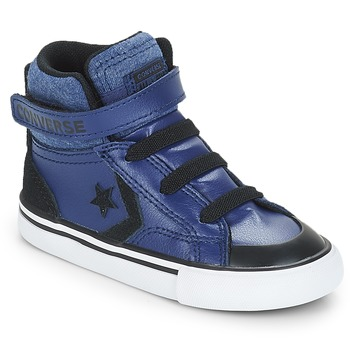 Shoes Boy High top trainers Converse PRO BLAZE STRAP HI Blue