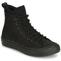 Shoes Men High top trainers Converse CHUCK TAYLOR ALL STAR WP BOOT LEATHER HI Black