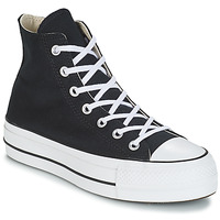 Shoes Women High top trainers Converse CHUCK TAYLOR ALL STAR LIFT CANVAS HI Black