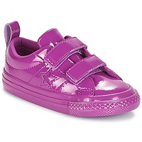 Shoes Girl Low top trainers Converse ONE STAR 2V SYNTHETIC OX Violet