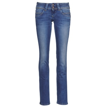 material Women straight jeans Pepe jeans VENUS Blue / Medium