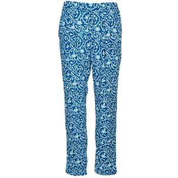 material Women Wide leg / Harem trousers Pepe jeans GEORGINA Blue