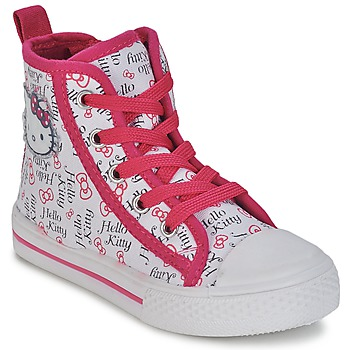 Shoes Girl High top trainers Hello Kitty LYNDA White
