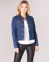 material Women Denim jackets Levi's ORIGINAL TRUCKER Blue / Raw