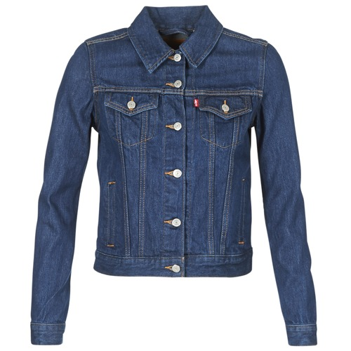 material Women Denim jackets Levi's ORIGINAL TRUCKER Blue / Raw