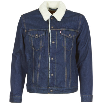 material Men Denim jackets Levi's TYPE 3 SHERPA TRUCKER Rockridge / Trucker