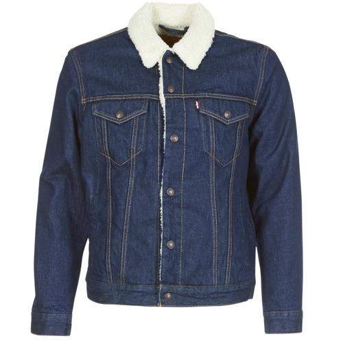 material Men Denim jackets Levi's TYPE 3 SHERPA TRUCKER Rockridge / Trucker