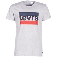 material Men short-sleeved t-shirts Levi's SPORTSWEAR LOGO GRAPHIC Grey
