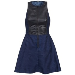 material Women Short Dresses G-Star Raw SUTZIL DRESS Marine / Black