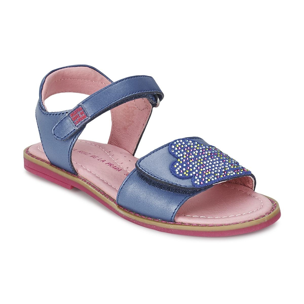 Sandals Agatha Ruiz de la Prada MISS PONZA Blue