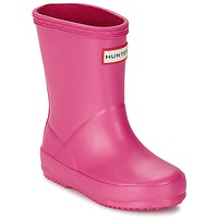 Shoes Girl Wellington boots Hunter KIDS FIRST CLASSIC Pink