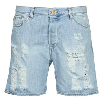 material Women Shorts / Bermudas Acquaverde BOY SHORT Blue / Clear