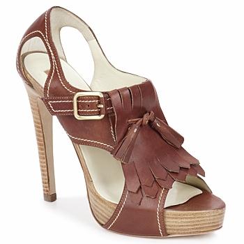 Shoes Women Sandals Rupert Sanderson MANON ELBAMATT-leather