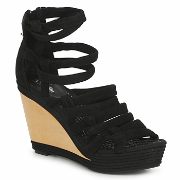 Shoes Women Sandals Belle by Sigerson Morrison APACHE HI  BLACK
