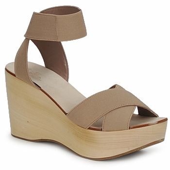 Sandals Belle by Sigerson Morrison ELASTIC Nude 350x350