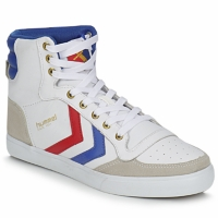 Shoes High top trainers Hummel STADIL HIGH White / Blue / Red