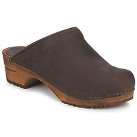 Shoes Women Clogs Sanita CHRISSY OPEN Brown