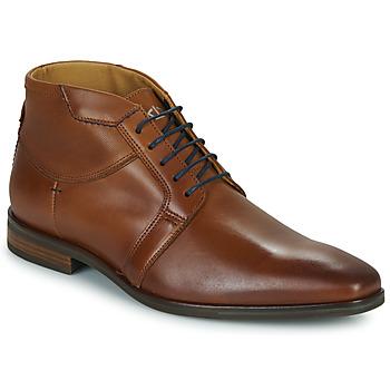 Shoes Men Mid boots Carlington JESSY Cognac