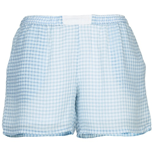 material Women Shorts / Bermudas Brigitte Bardot ANGELIQUE Blue / White