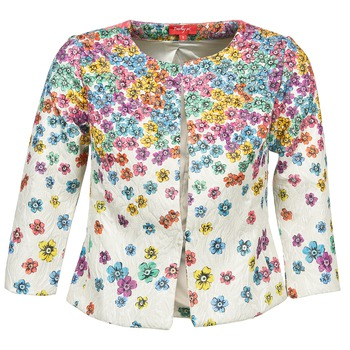 material Women Jackets / Blazers Derhy JOCASTE ECRU