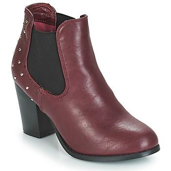 Shoes Women Ankle boots Moony Mood JURDEAN Bordeaux
