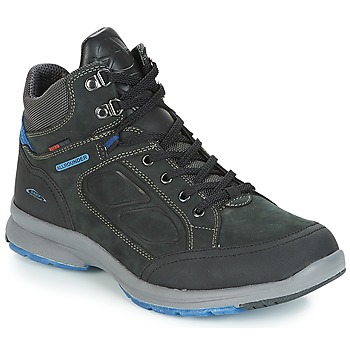 Shoes Men Hiking shoes Allrounder by Mephisto CHEIRON TEX Black / Blue